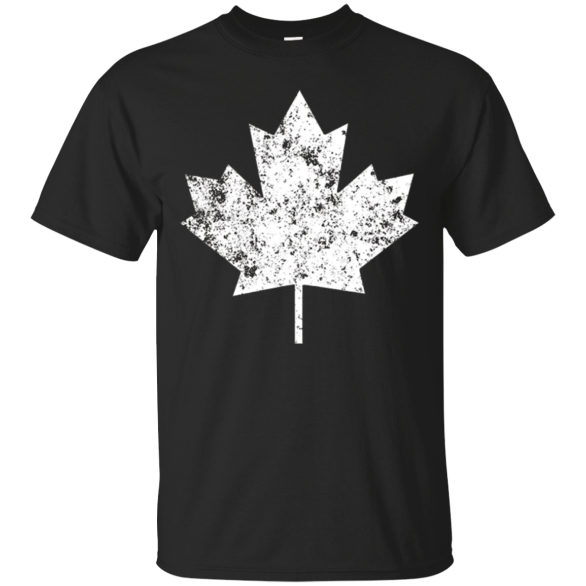 Canada Maple Leaf T-shirt Vintage Retro Style - Unisex