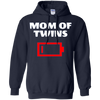 Image of Mom Of Twins Funny Smart Long Sleeve T-shirt Newnorn Mother
