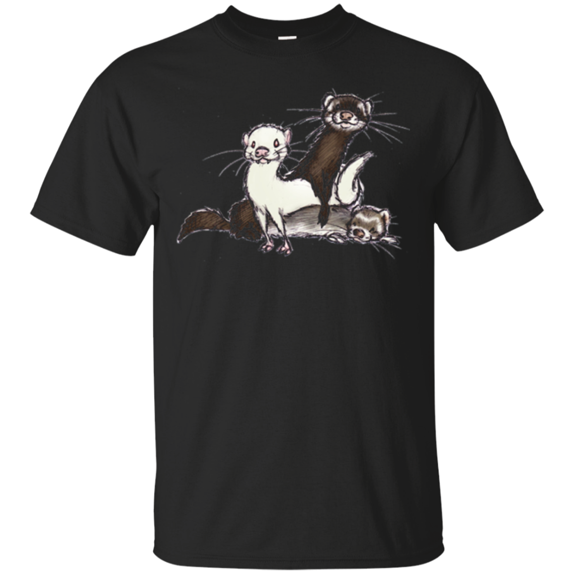 Cute Ferrets Shirt - Gift For Ferret Lovers