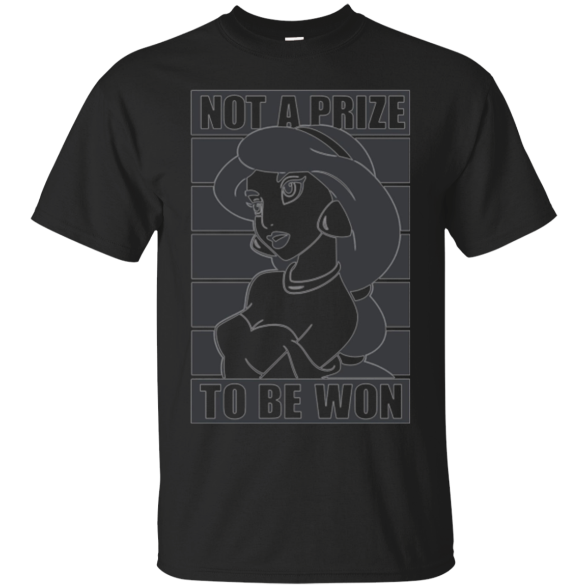 Disney Aladdin Jasmine Not A Prize To Be Won Graphic T-Shirt
