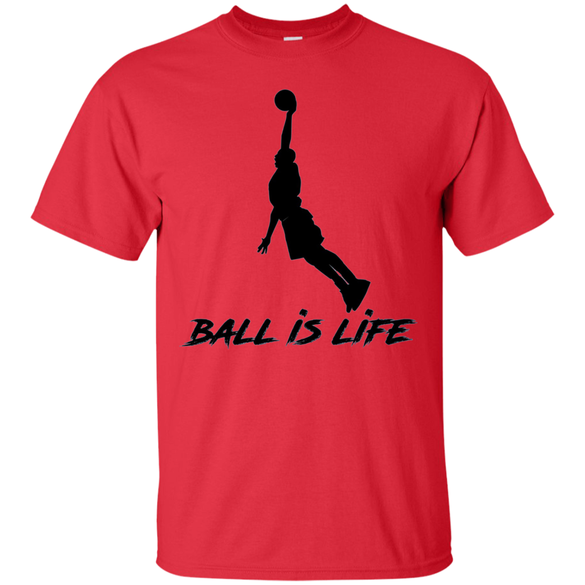 Basketball is Life - Ball is Life Graphic Tee Shirt