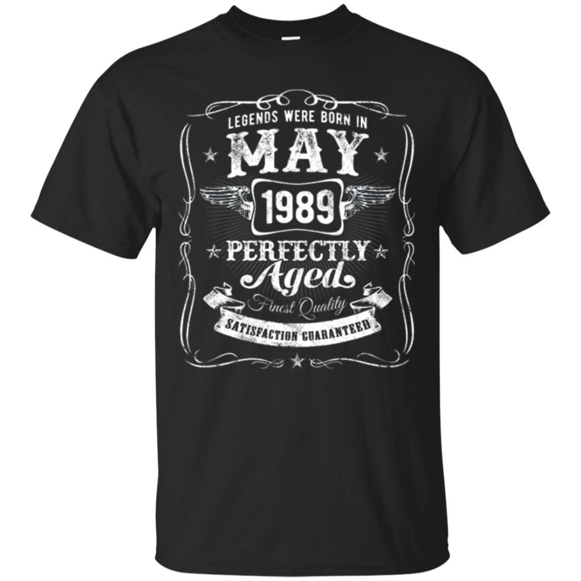 Legends Were Born In May 1989 T-Shirt Vintage 29th Birthday