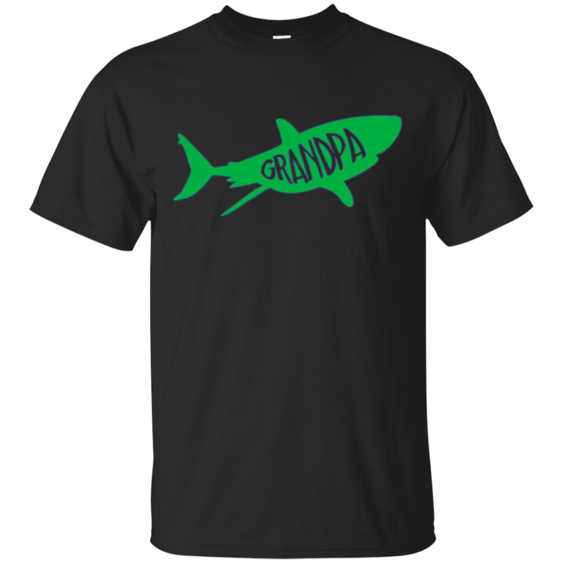"Shark ""Grandpa"" Matching Family T-Shirt"