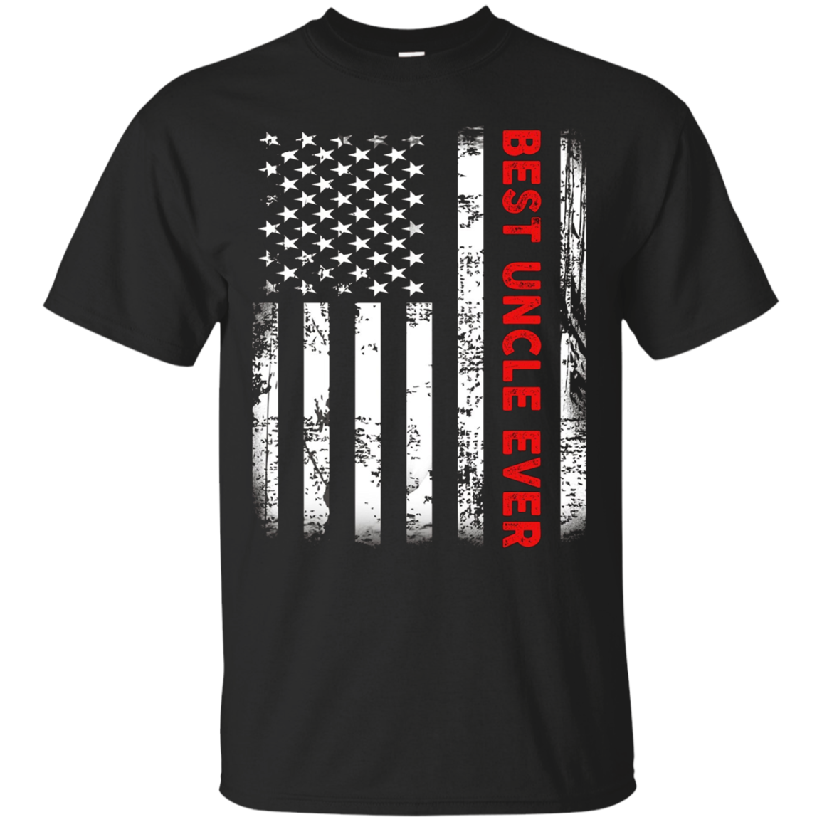 Best Uncle Ever American Flag Tshirt Gifts For Men