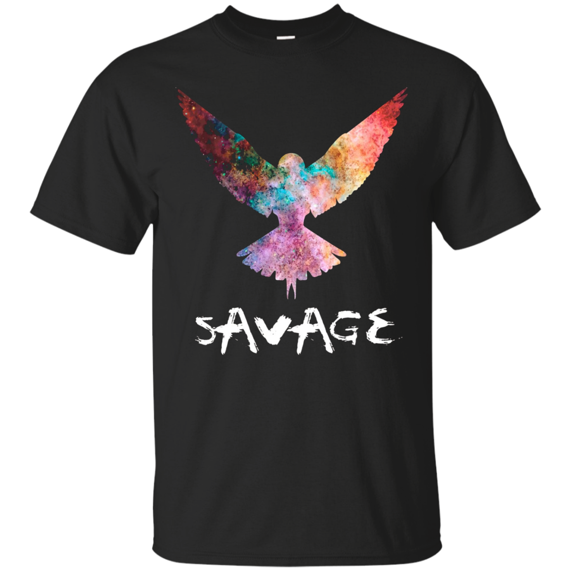 Be a Maverick - Be a Savage - Bird in Flight T-Shirt