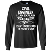 Image of Best Funny Gift Ideas For Civil Engineer T-shirt