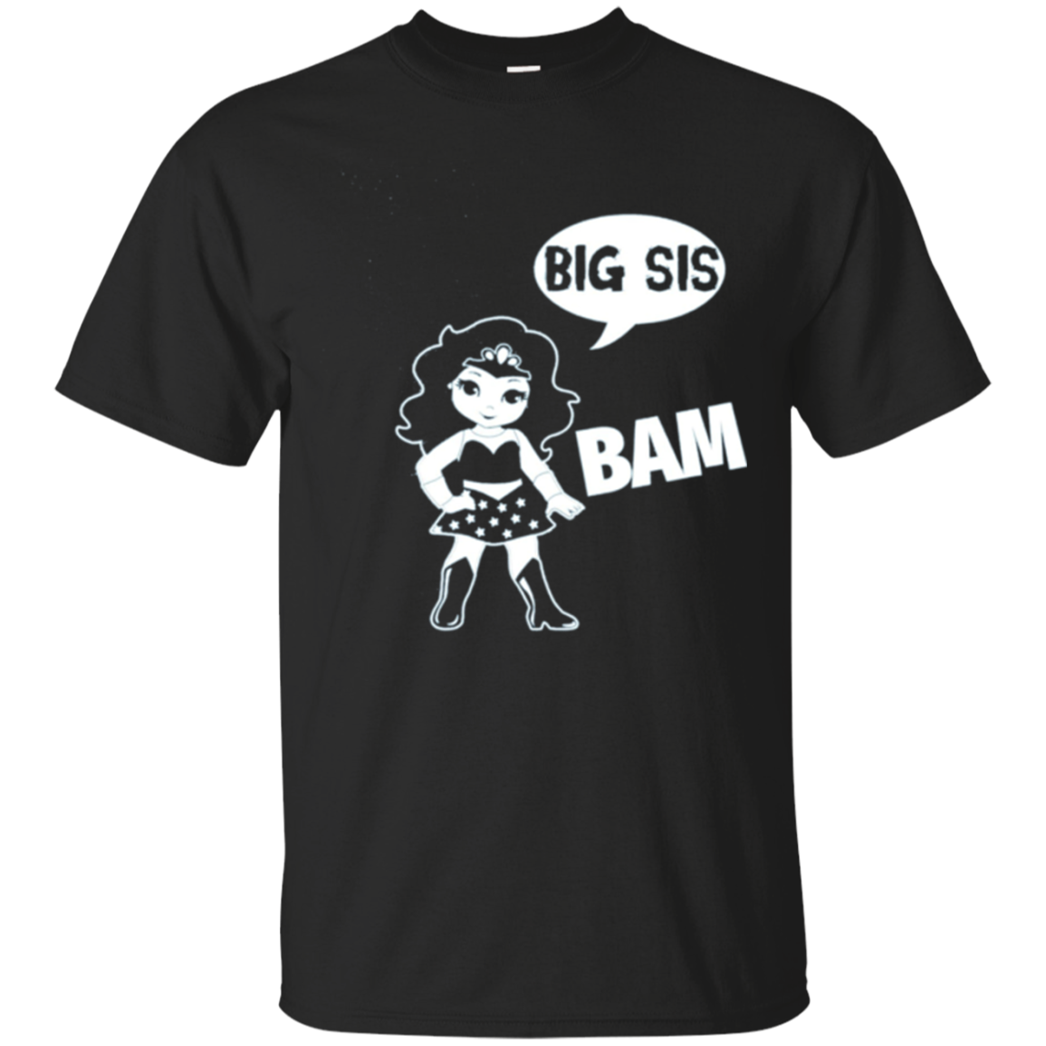 Big Sis Superhero Big Sister T-Shirt