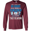Image of It's Probably Tax Season Funny Accountant T-Shirt