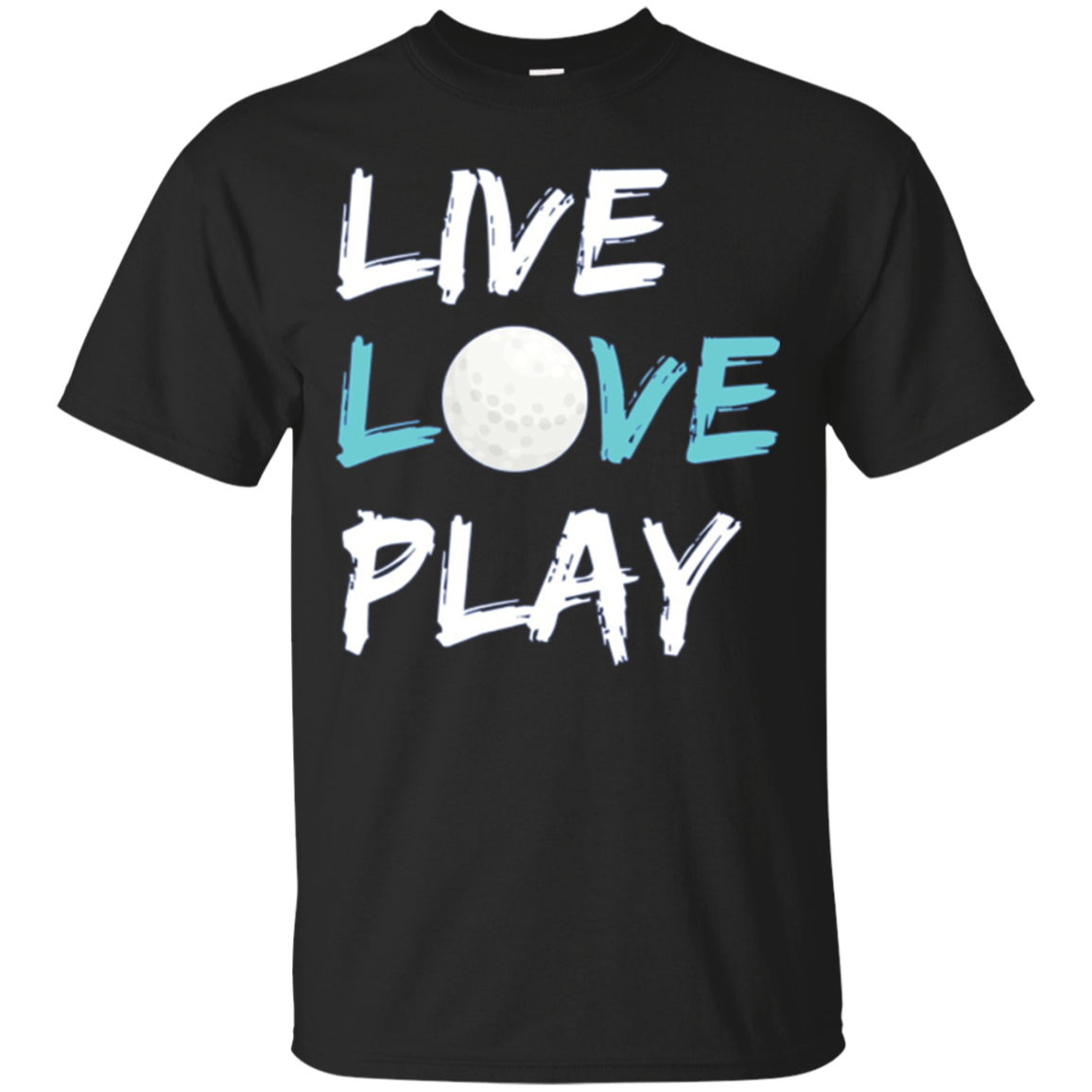 Golf Long Sleeve T-Shirt Live Love Play