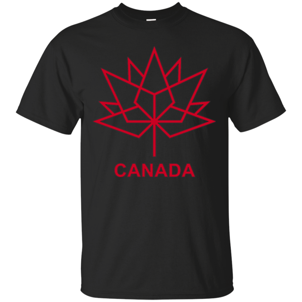 Canada Maple Leaf Anniversary Logo T-Shirt