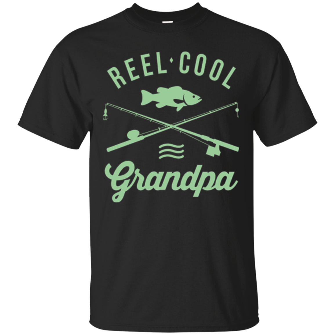 Funny Fishing T-shirt For Retired Grandpa Shirt Reel Cool