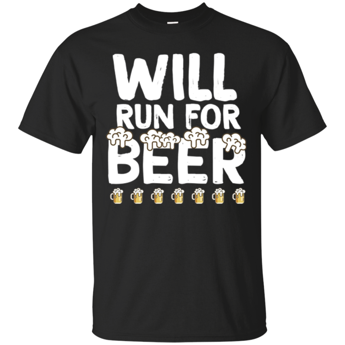 Funny Drinking Shirt, Run for Beer Long Sleeve Tshirt Gift