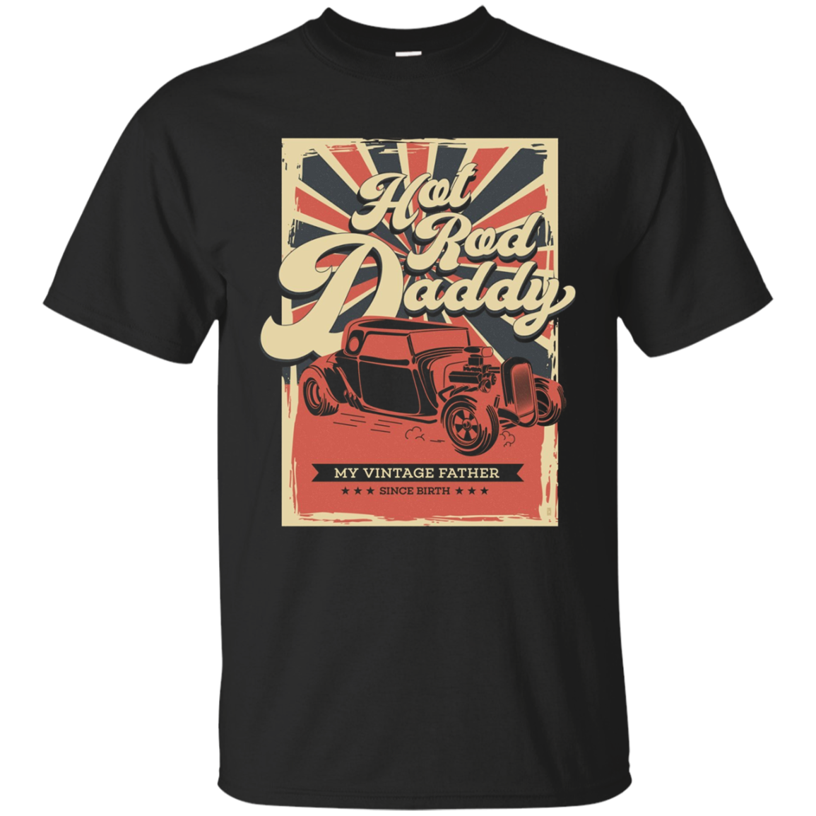 Hot Rod Daddy Vintage tee T Shirt