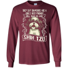 Image of Girl's Best Friend T Shirt, My Shih Tzu T Shirt, Dog T Shirt