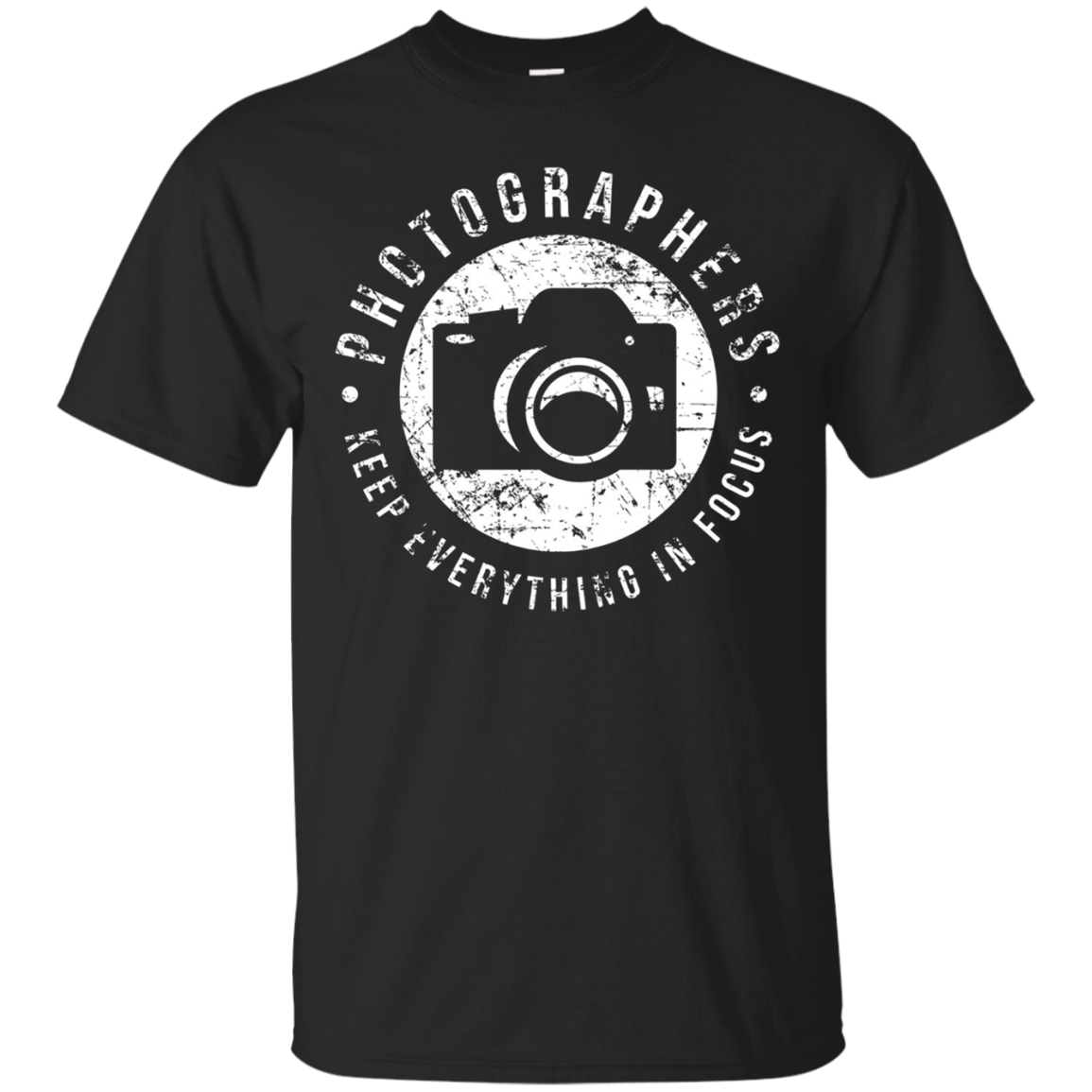Photographers Keep Everything Focus T Shirt Funny Photo Gift