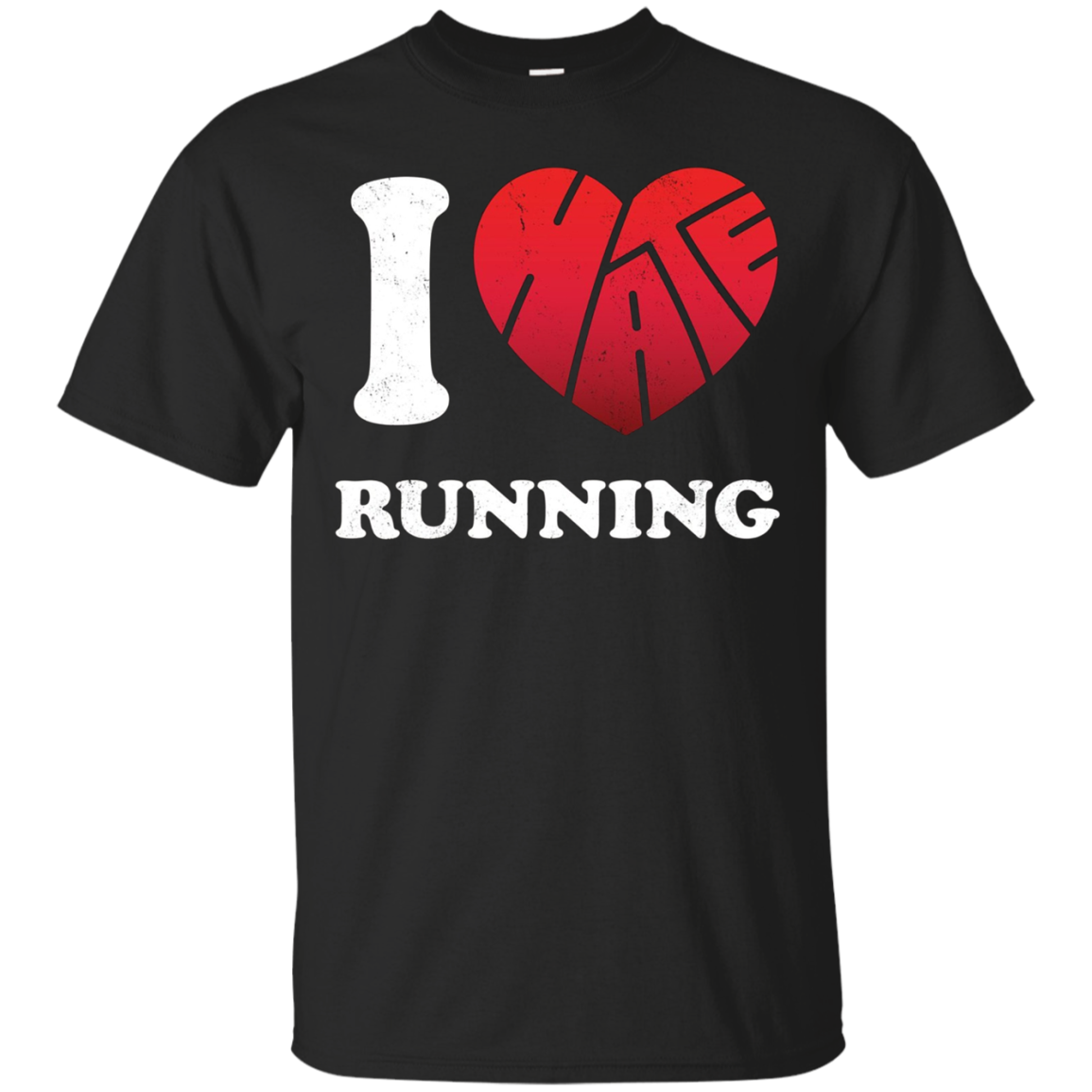 I Love to Hate Running T-Shirt