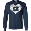 Image of Sewing Heart Shirt, Funny Cute Love to Sew Seamstress Gift