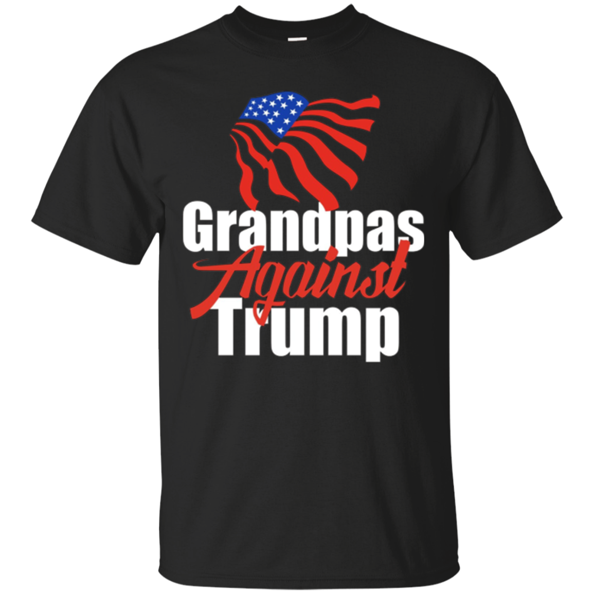 Mens Grandpas Against Trump T-Shirt