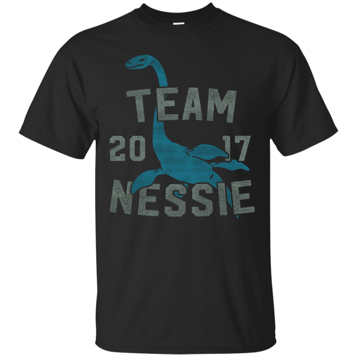 Team Nessie Loch Ness Monster Cryptozoology Retro T Shirt
