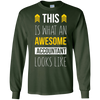 Image of Accountant This is what an awesome accountant looks T-shirt