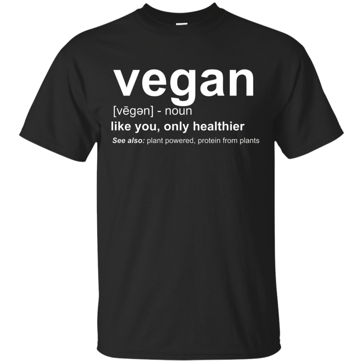 Vegan Shirt - Vegan Definition Shirt