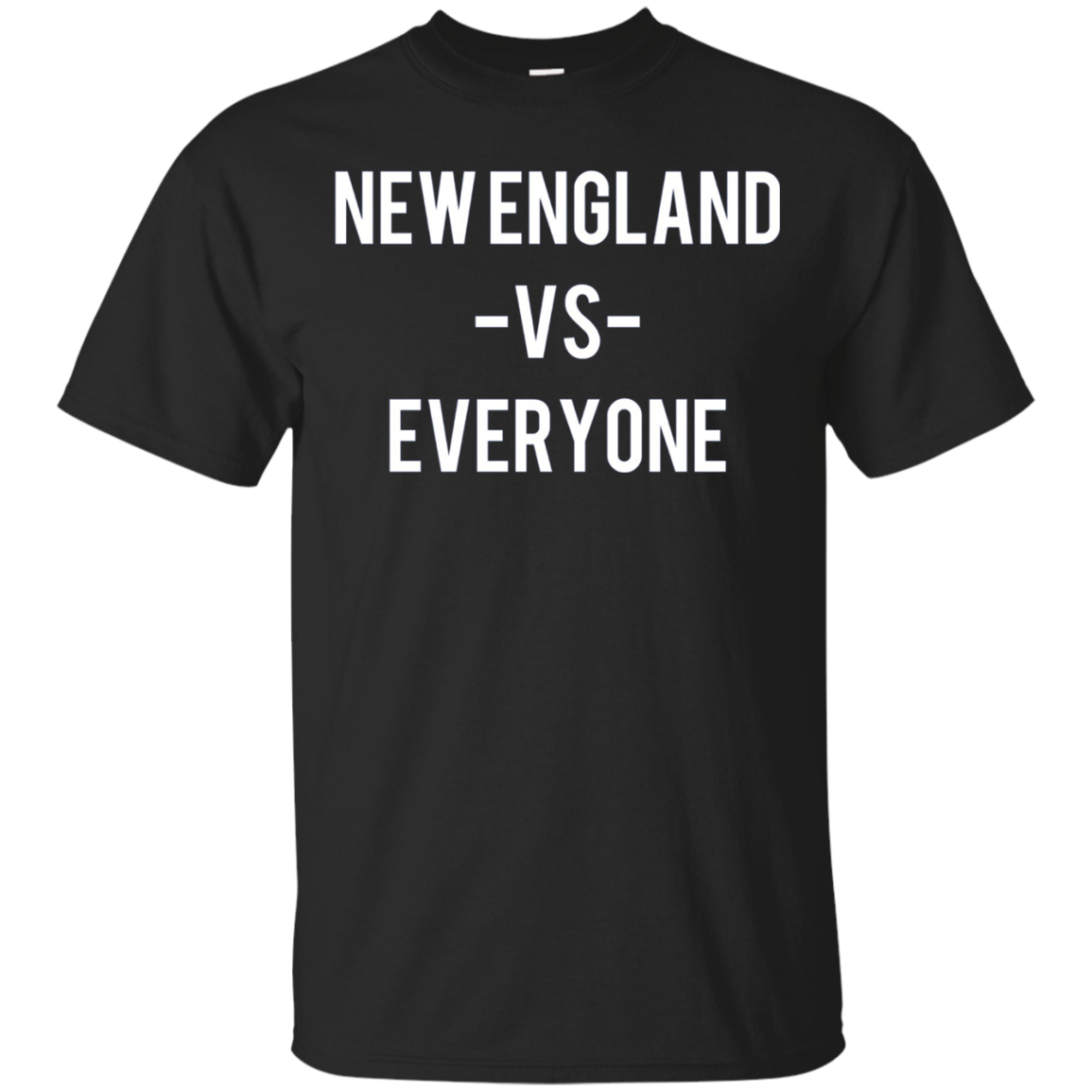 New England VS Everyone Long Sleeve TShirt