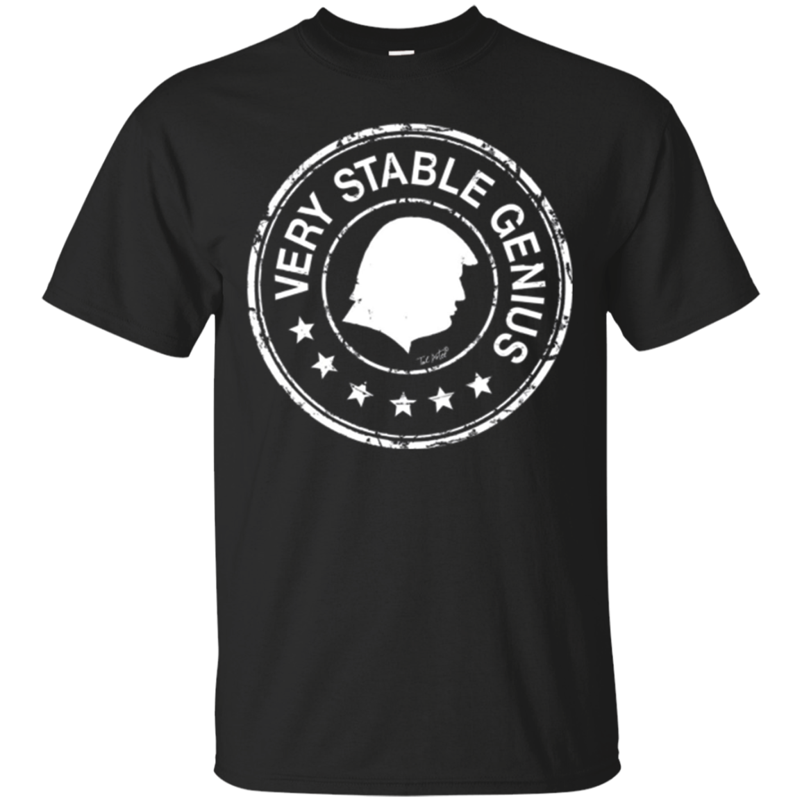 Donald Trump Funny Very Stable Genius Meme Shirt|Long Sleeve