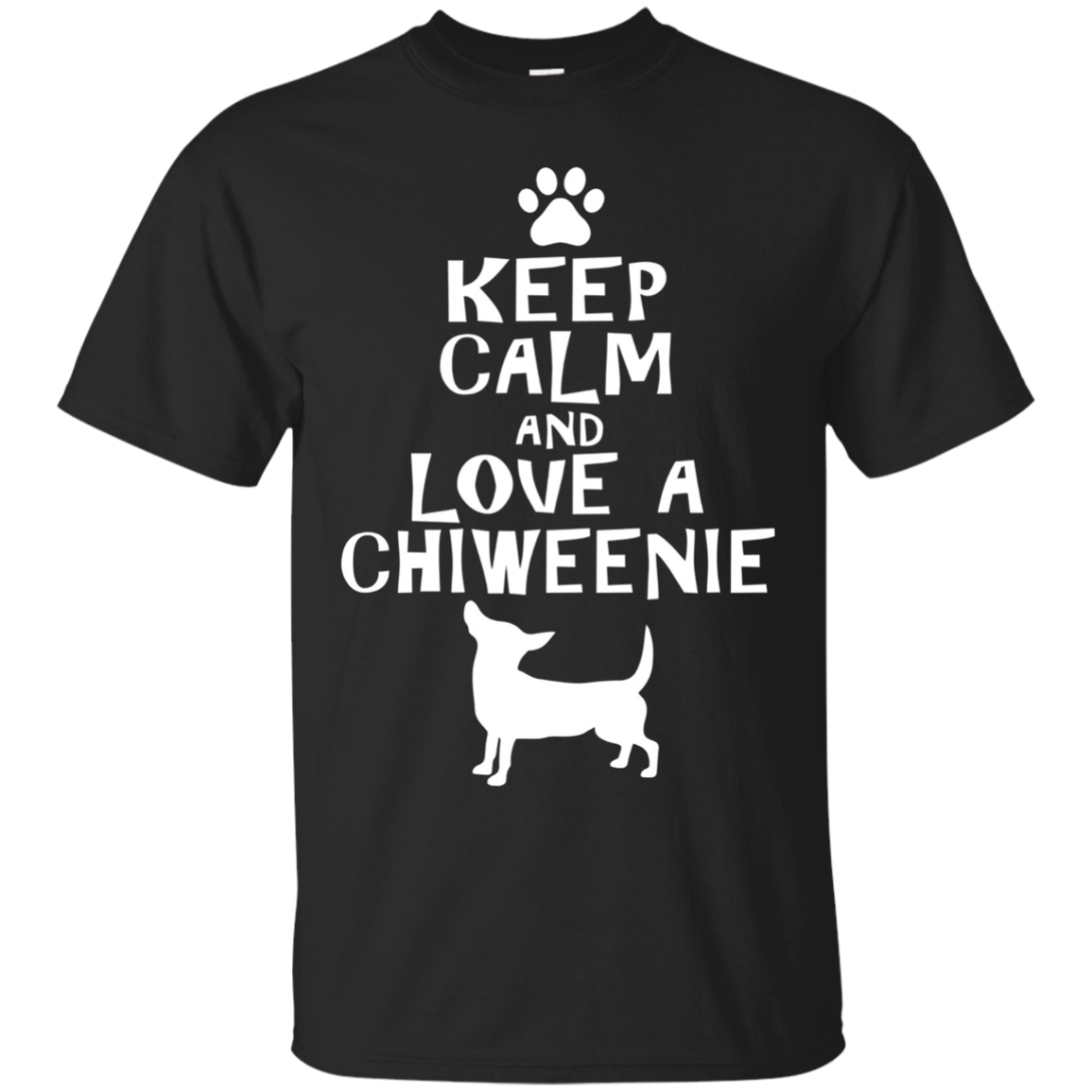 LOVE A CHIWEENIE GIFT T-SHIRT, Cute Chiweenie Dog Shirt