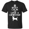 Image of LOVE A CHIWEENIE GIFT T-SHIRT, Cute Chiweenie Dog Shirt