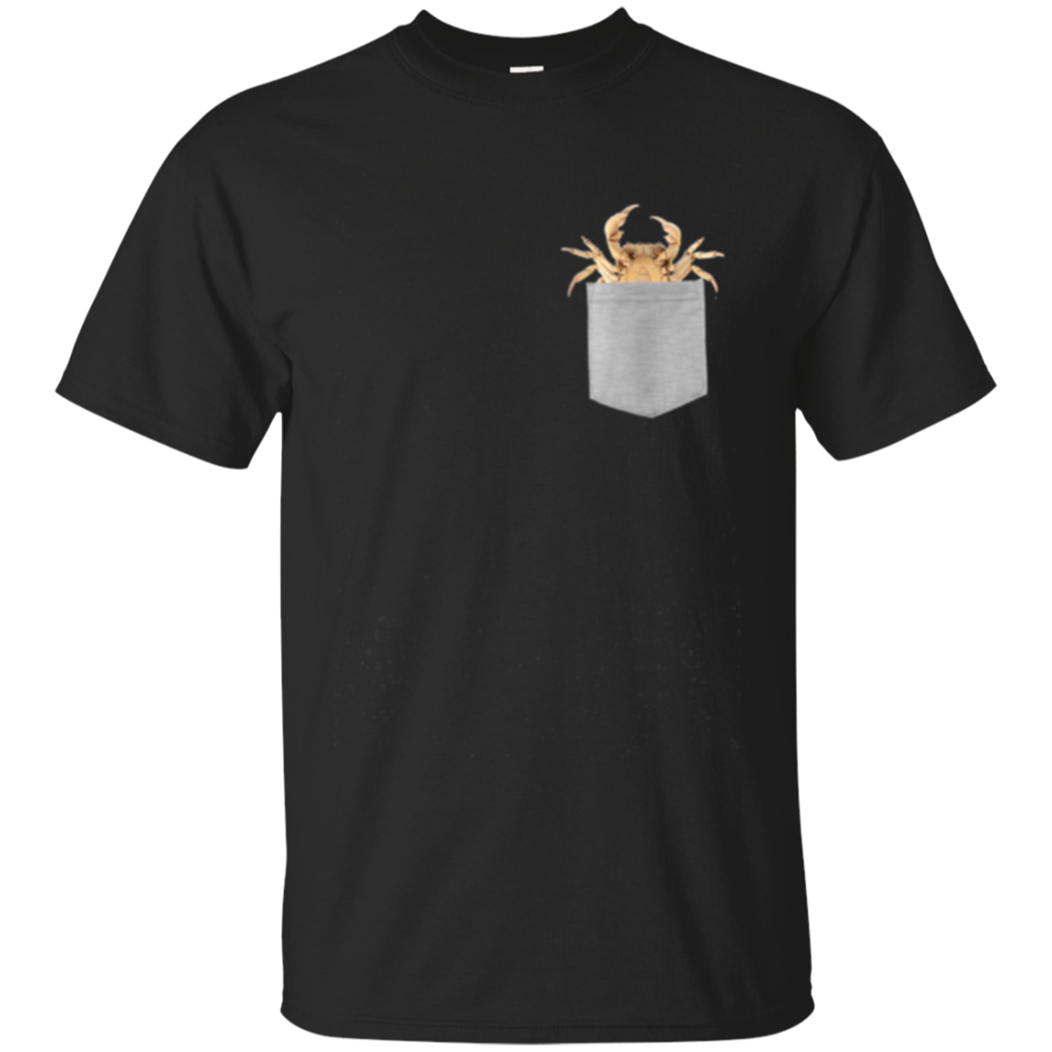 Animal in Your Pocket Crab Longsleeve T-shirt