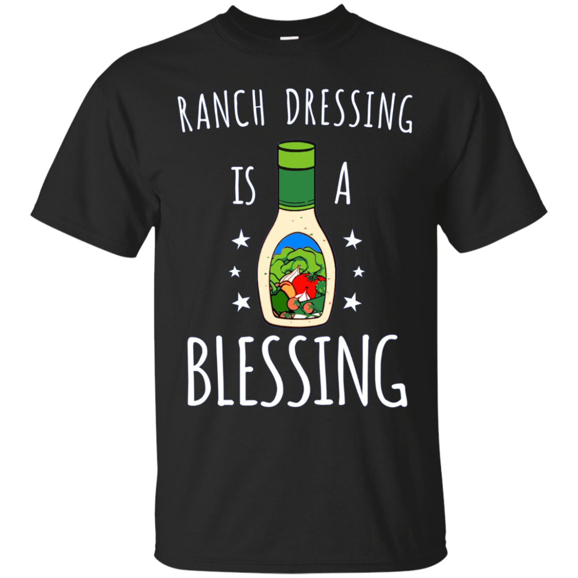 Ranch Dressing Is A Blessing Long Sleeve Tshirt - Cool Vegan