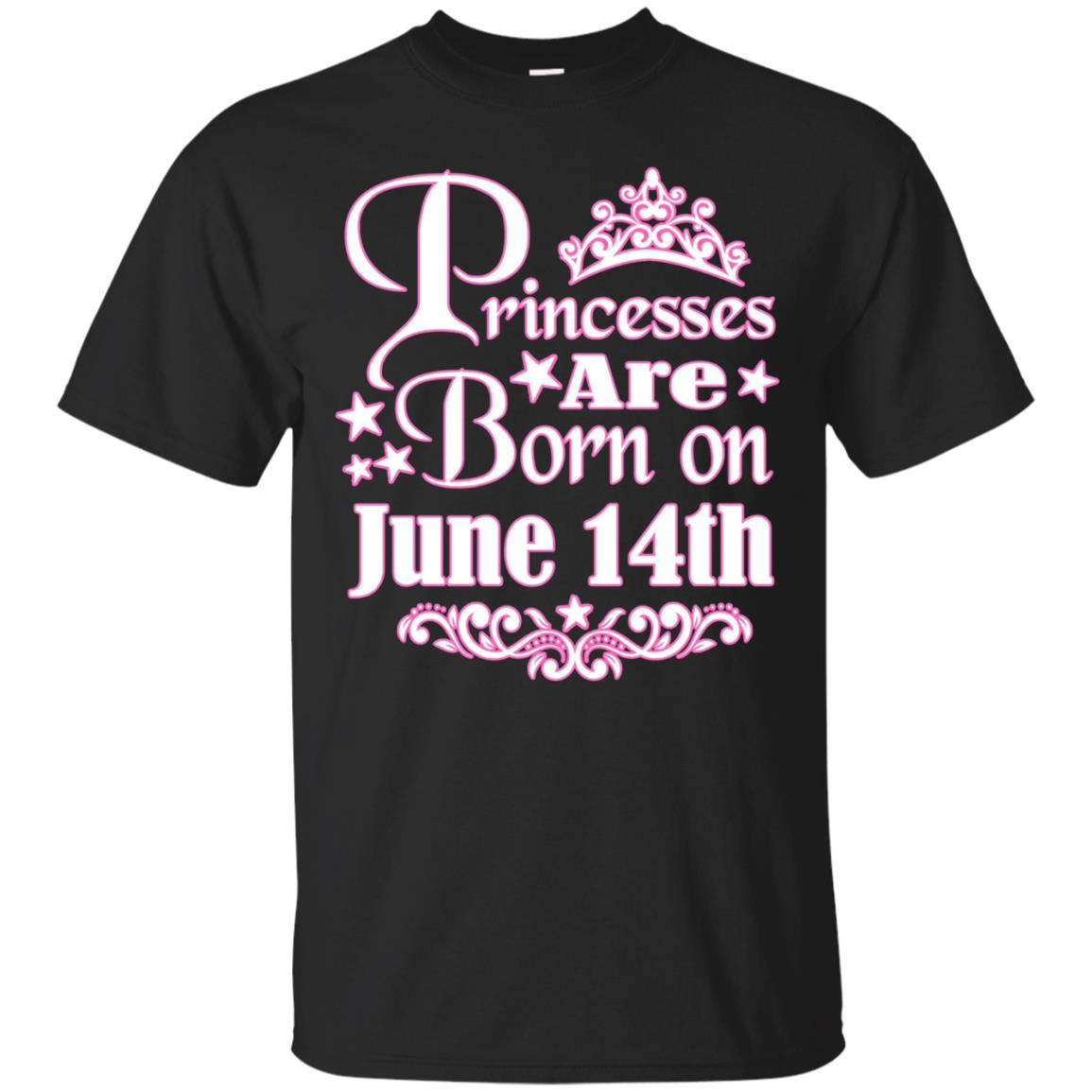 Princesses Are Born On June 14th Funny Birthday