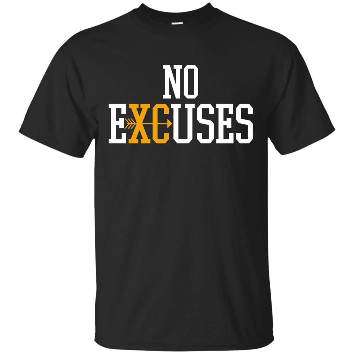 No Excuses Cross Country Track And Field Running T-Shirt