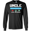 Image of Uncle Level Unlocked T-Shirt for a New Uncle Gamer