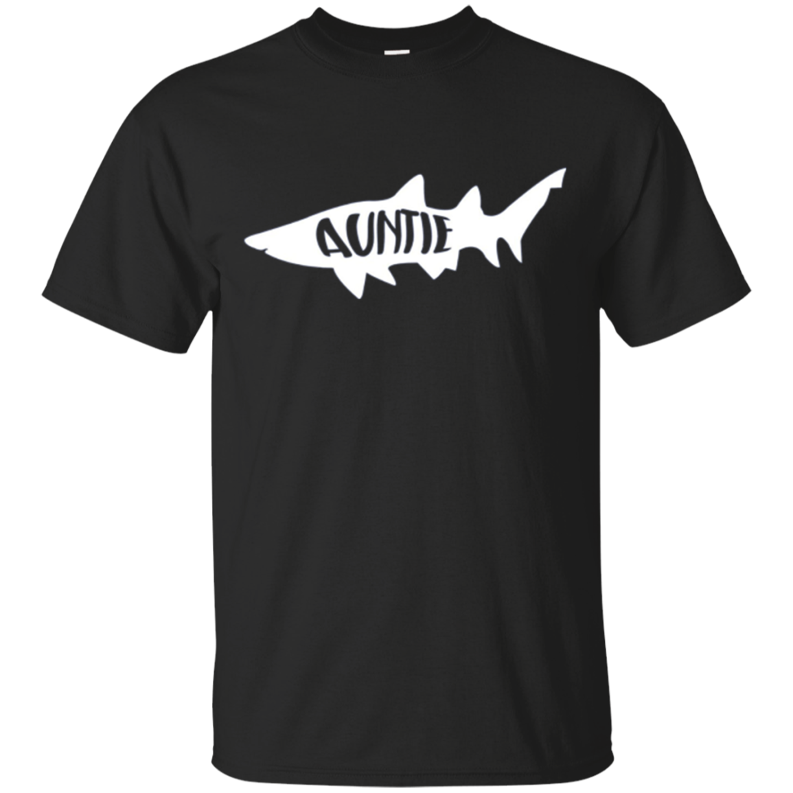 "Shark ""Auntie"" Matching Family T-Shirt"
