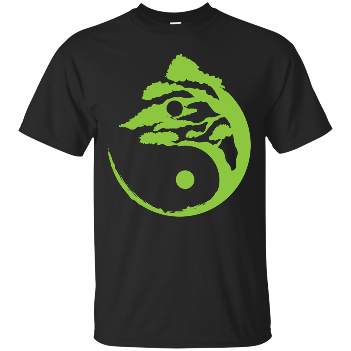 Bonsai Tree Yin-Yang Birthday Gift Shirt For All Men & Women