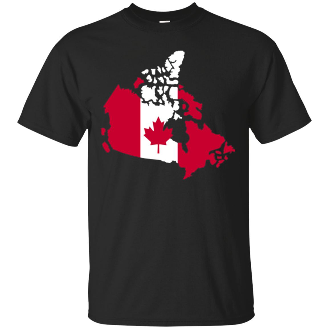 Canada map flag T-Shirt
