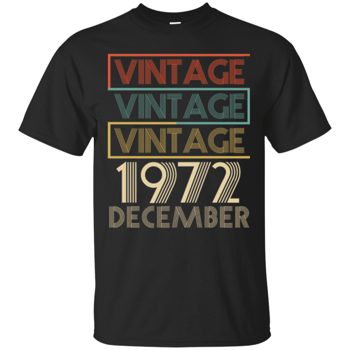 Legends Born In DECEMBER 1972 Vintage Christmas 45 Years Old