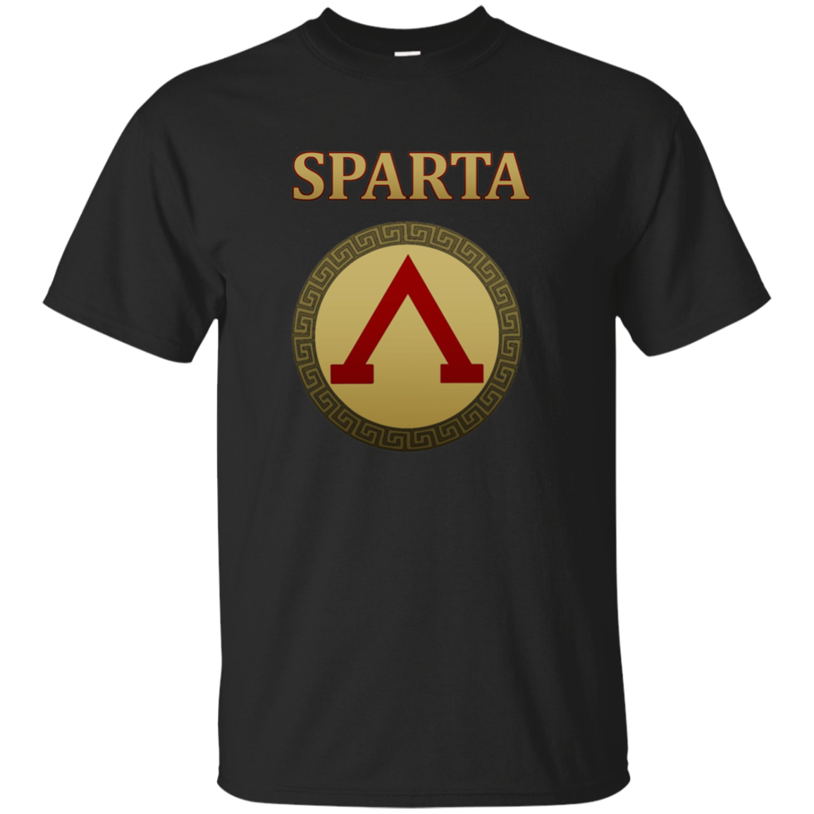 Sparta Shield Longsleeve T-shirt