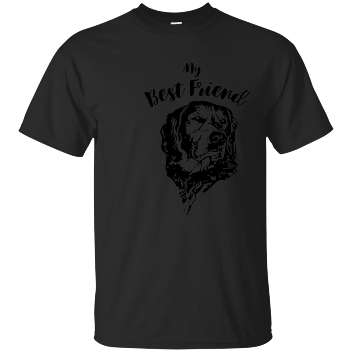 Best Friend t-shirt Golden Retriever shirt DogTee shirt