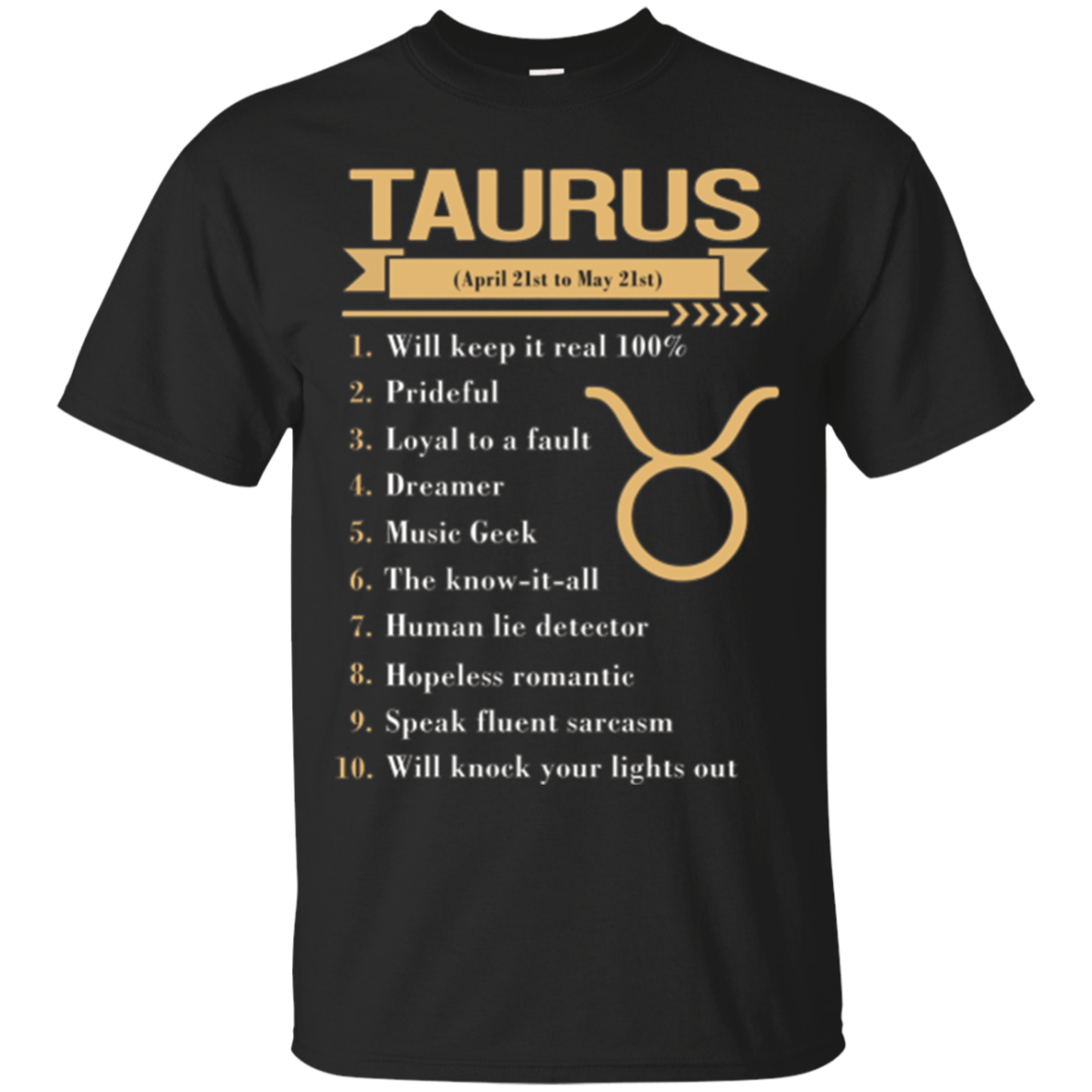 Taurus Queens, Taurus Kings, Taurus facts T Shirts