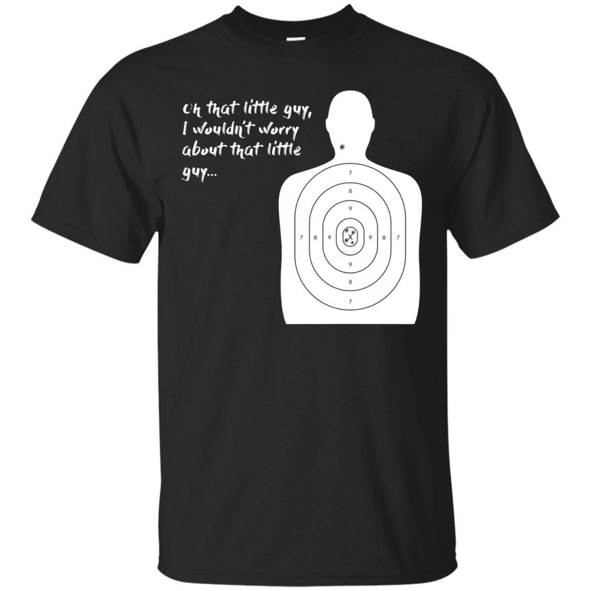 That Little Guy LEO State Trooper Gun Range T-Shirt Super