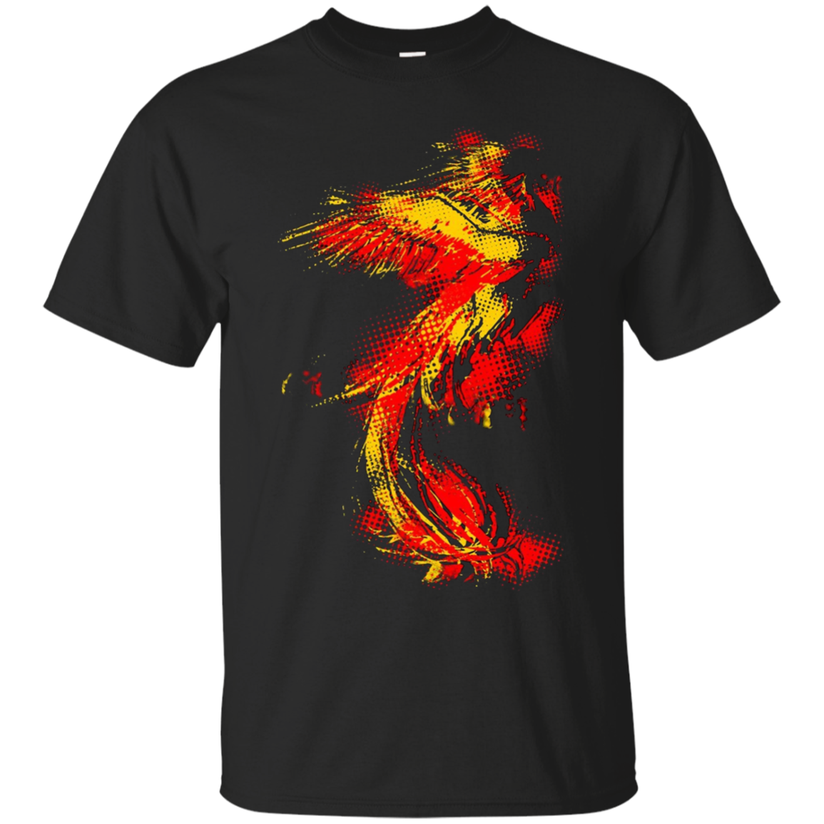 LiftOff Gothic Phoenix T-Shirt Motocycle Riders, Nature Gift