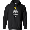 Image of Funny Keep Calm and Beam On Radiation Therapy Tshirt
