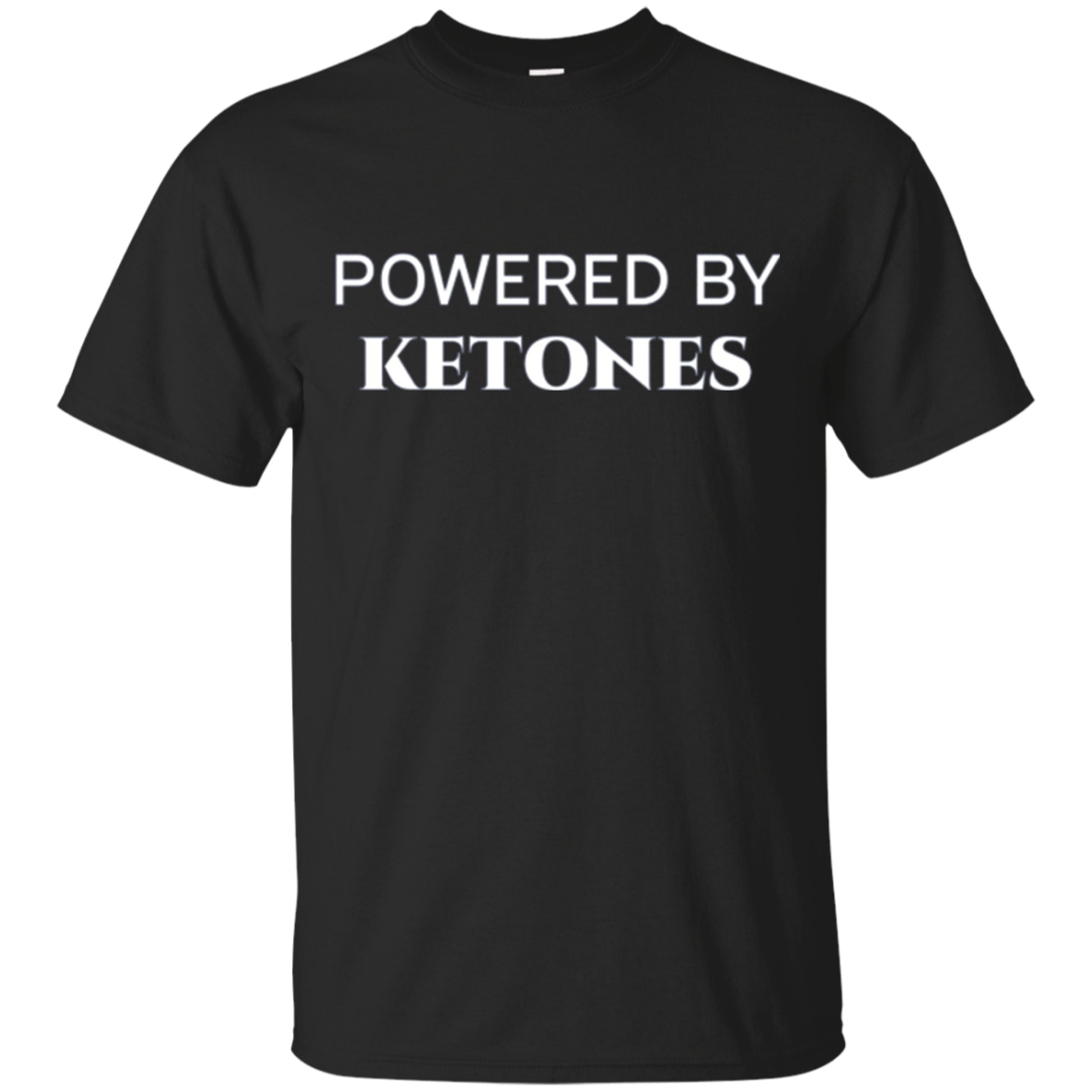 Powered By Ketones Keto Diet Long Sleeve