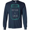 Image of Keep Calm and Can On - Funny Canning Season T-Shirt