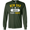 Image of New Dad T-shirt, Funny Rookie Father 2016, By Zany Brainy