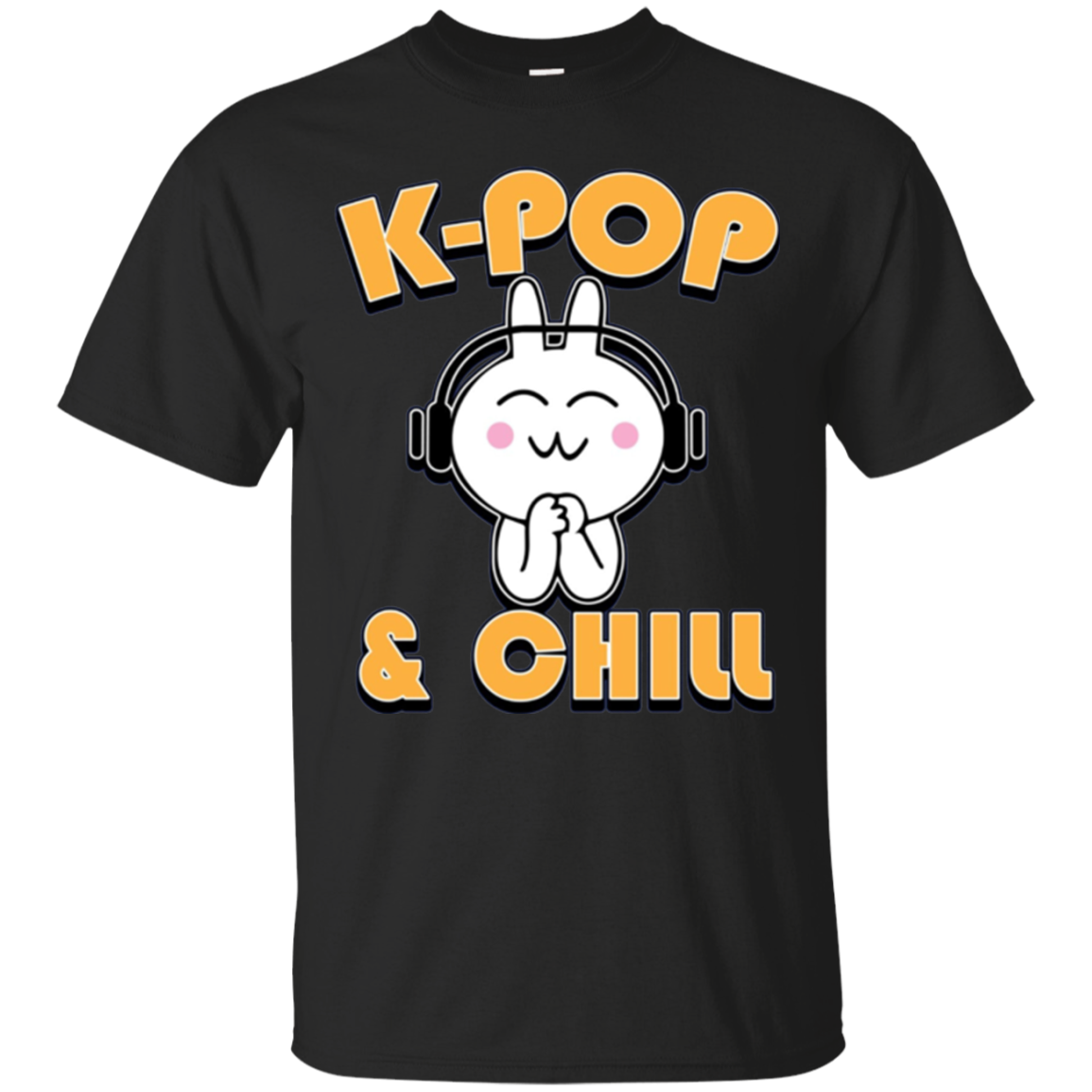 Kpop shirt - Kpop and Chill Long Sleeved Shirt