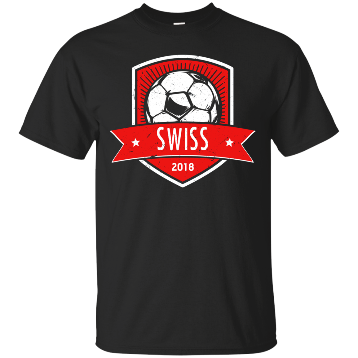 Vintage Switzerland Team Shirt 2018