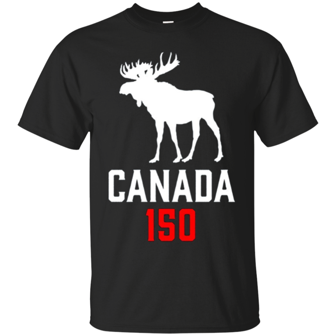 Canada Moose 150 Canadian Confederation Proud 150th T-Shirt